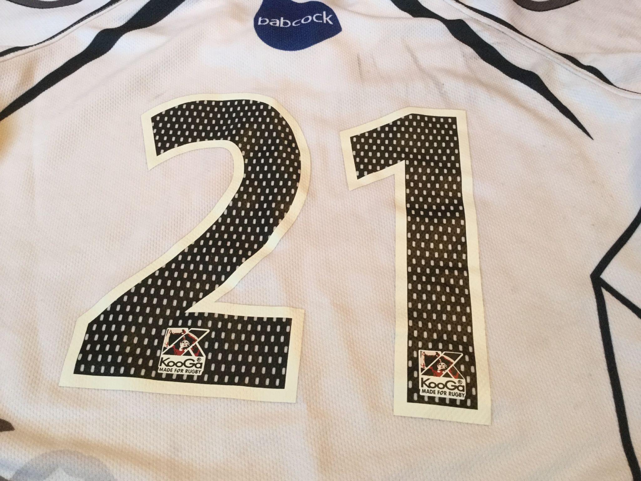 Design shirt kooga - Classic Rugby Shirts 2009 Royal Navy Vintage Old Jersey